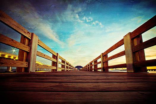 Pier Walk by Joan McCool