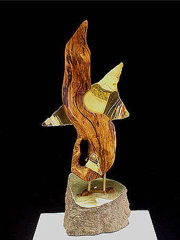 Piercing by Kenneth-Edward Swinscoe