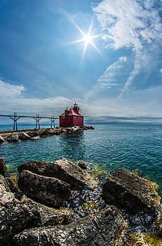 Pierhead Lighthouse by Brad Bellisle