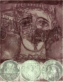 Pierrot's Funeral A by Bert Menco