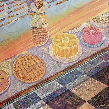 Pies and Cakes at the Diner by John Knotts