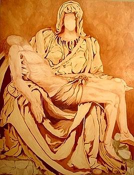 Pieta-After Michelangelo by Kevin Davidson