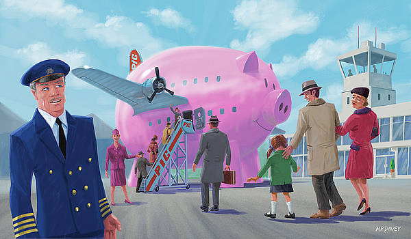 Pig Airline Airport by Martin Davey