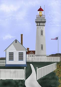 Pigeon Point Lighthouse California by Anne Norskog
