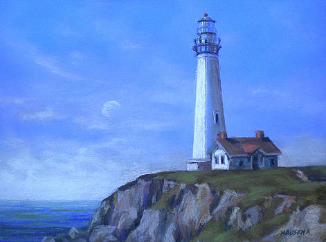 Pigeon Point Lighthouse by Cheri Halsema