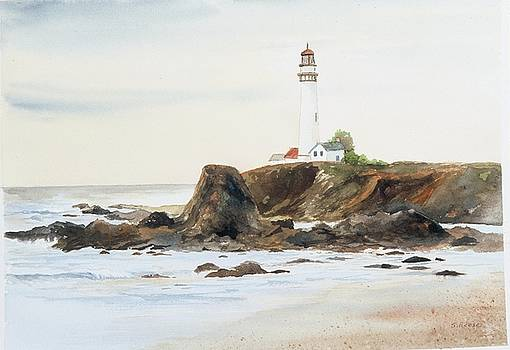 Pigeon Point Lighthouse by Sandy Reese