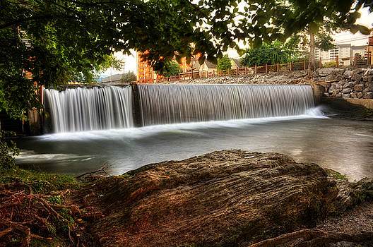 Pigeon River At Old Mill by Greg Mimbs