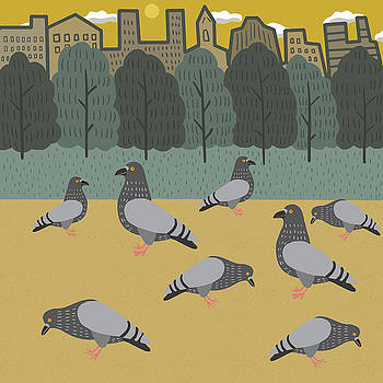Pigeons Day Out by Nicole Wilson