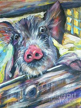 Piggy by JoAnn Wheeler