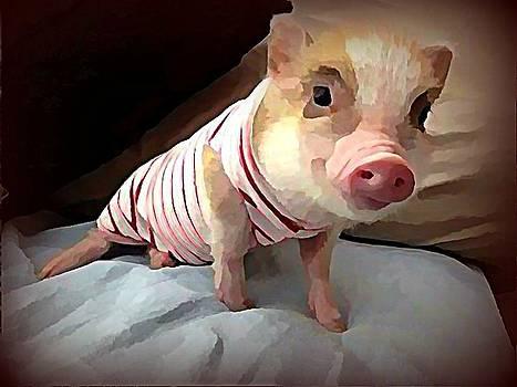 Piglet In PJs by Raven Hannah