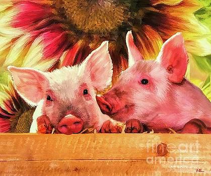 Piglet Playmates by Tina LeCour