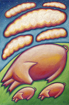 Pigs Peace by Mary Anne Nagy