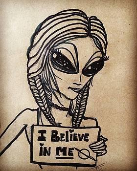 Pigtalien Girl by Similar Alien