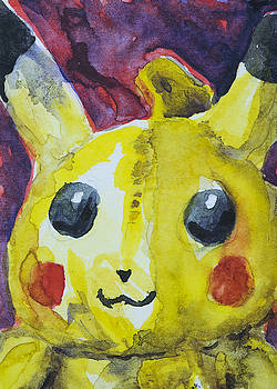 Pikachu Toy by Laura Ross
