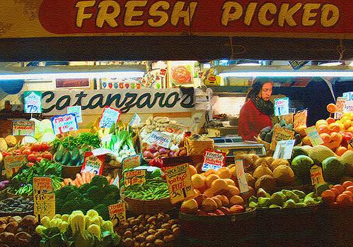 Lydia L Kramer - Pike Place Market produce