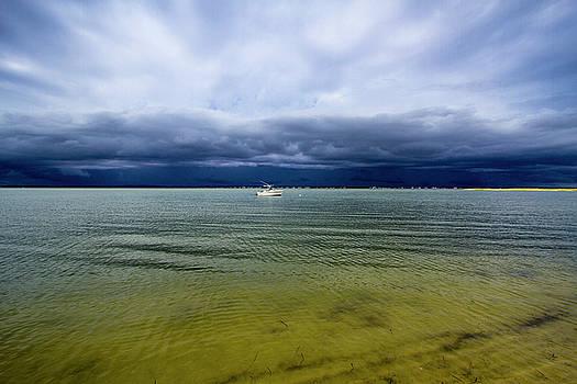 Pike's Beach Storm Approaching by Robert Seifert