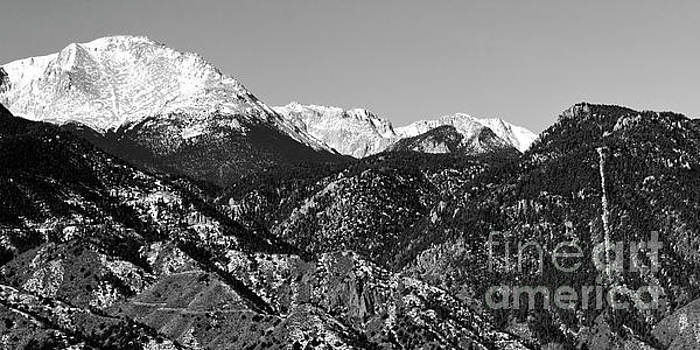 Steve Krull - Pikes Peak and Incline 36 by 18