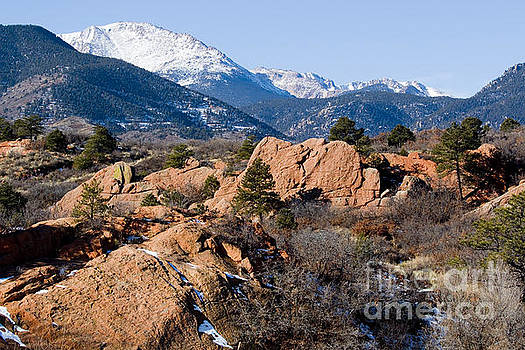 Steve Krull - Pikes Peak and Red Rock Canyon Colorado in Winter