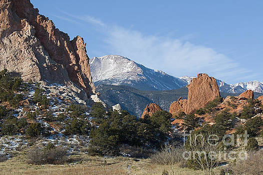 Steve Krull - Pikes Peak in the Garden Valley