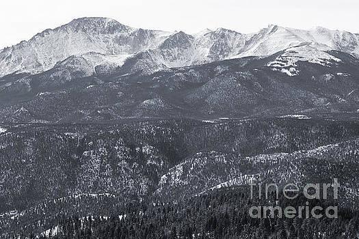 Steve Krull - Pikes Peak in Winter