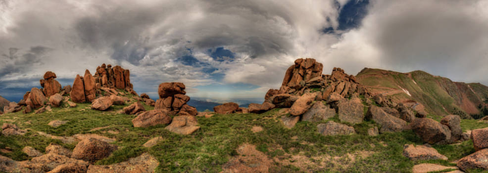 Chris Bordeleau - Pikes Peak Panorama