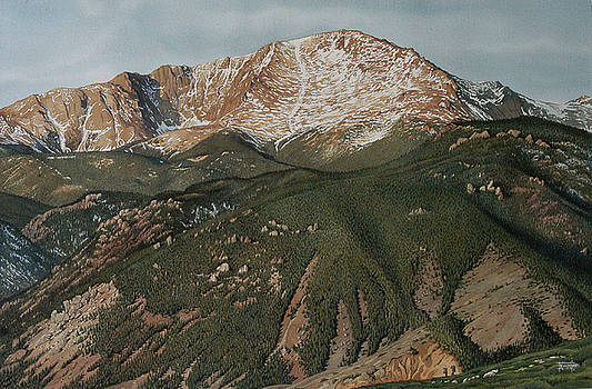 Pikes Peak by Rich Marks