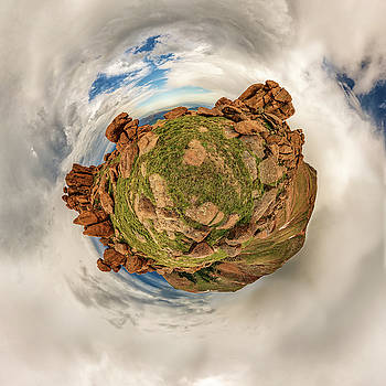 Chris Bordeleau - Pikes Peak Tiny Planet #2