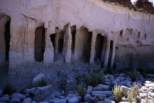 Pillars And Caves, Crowley Lake by Michael Courtney