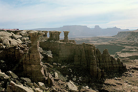 Pillars Canyonlands by Peter J Sucy