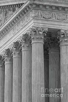 Pillars of the Supreme Court by E B Schmidt
