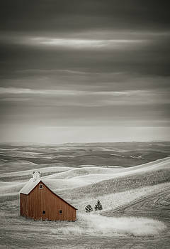 Pillbox Barn Early Morning by Don Schwartz