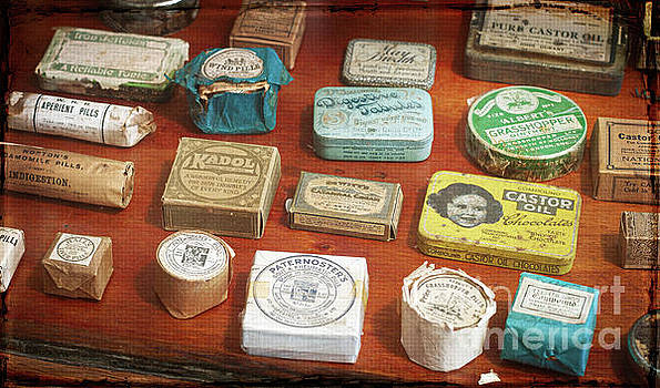 Pills, powders and ointments by Russ Brown