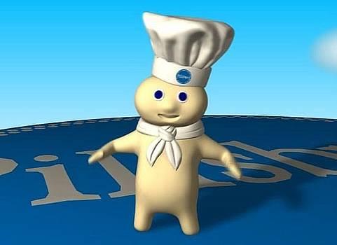 Pillsbury Doughboy by Giora Eshkol