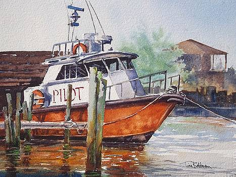 Pilot Boat - Port A Texas by Tina Bohlman