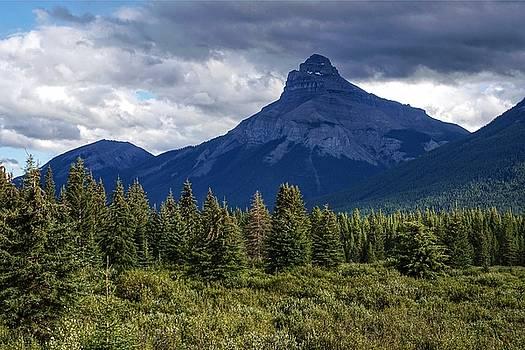Pilot Mountain, Alberta by Heather Vopni