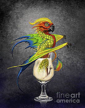 Pina Colada Dragon by Stanley Morrison