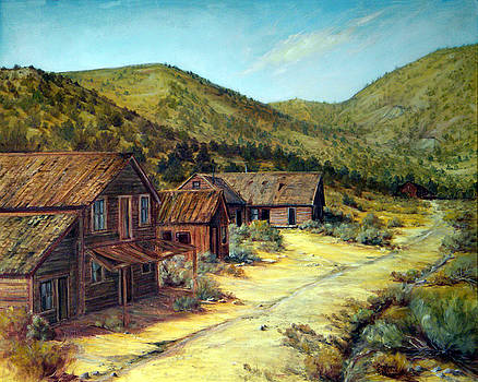 Pine Grove Nevada by Evelyne Boynton Grierson