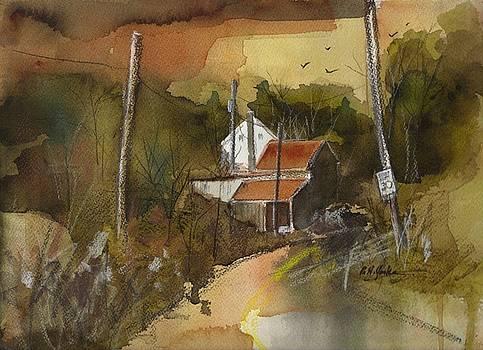 Pine Hill Road by Robert Yonke