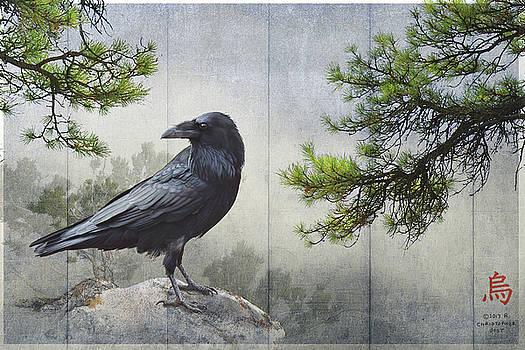 Pine Rock Raven by R christopher Vest