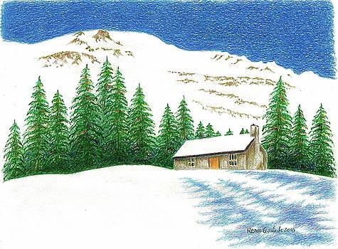 Pine Shadows by Renee Goularte