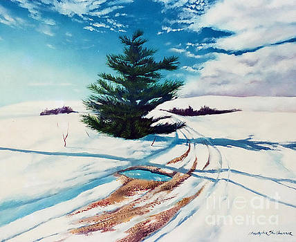 Christopher Shellhammer - Pine Tree Along The Country Road