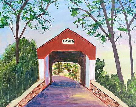 Pine Valley Covered Bridge by Marita McVeigh