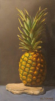 Pineapple, SOLD Painting by Al Torres