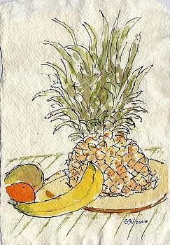 Pineapple and Banana by Bernard Victor