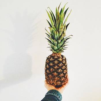Pineapple At The Evening. 🍍 by Anna Schwaab