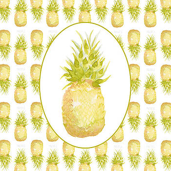 Pineapple cameo by Cindy Garber Iverson