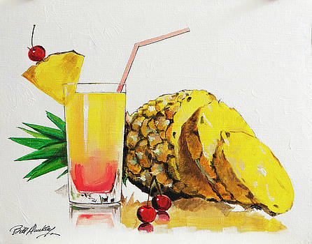 Pineapple Cocktail by Bill Dunkley
