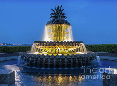 Pineapple Fountain by Jerry Fornarotto
