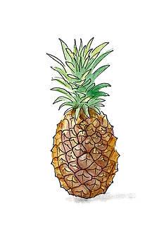 Pineapple by Masha Batkova