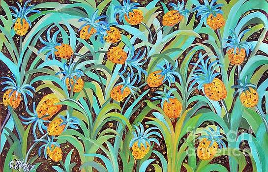 Pineapples by Caroline Street